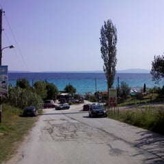 Photo taken at Almyra Beach Bar by Jadranka O. on 8/30/2014