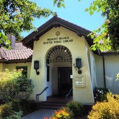 Photo taken at Seattle Public Library - Fremont Branch by Jon S. on 8/20/2013