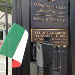 Photo taken at Embassy of Italy by Shannon L. on 5/11/2013