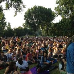 Photo taken at Erasmuspark by Martijn R. on 7/27/2013