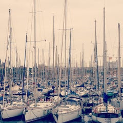 Photo taken at Marina Port Vell by Tom H. on 4/29/2013
