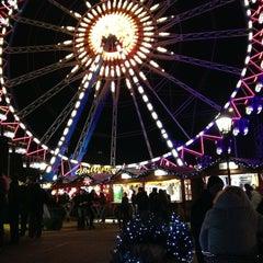 Photo taken at Weihnachtsmarkt am Roten Rathaus by Jade L. on 12/30/2012