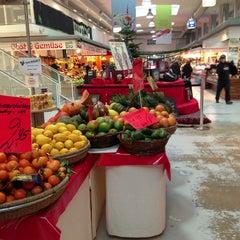 Photo taken at Marheineke Markthalle by Jade L. on 12/30/2012