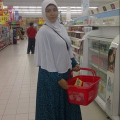 Photo taken at Carrefour by Kiki Y. on 1/20/2015