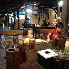 Photo taken at Raffles Restaurant Puncak by voNNce on 1/24/2015