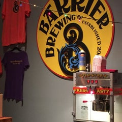 Photo taken at Barrier Brewing Co. by Donald W. on 11/6/2015