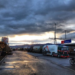 Photo taken at Bahnhof Rotkreuz by Conny K. on 4/12/2013