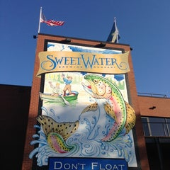 Photo taken at SweetWater Brewing Company by Will L. on 3/8/2013