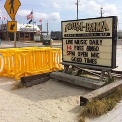 Photo taken at Flora-Bama Lounge, Package, and Oyster Bar by Flora-Bama Lounge, Package, and Oyster Bar on 9/4/2014