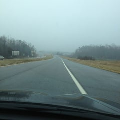 Photo taken at NC/VA line by Annette J. on 1/11/2013