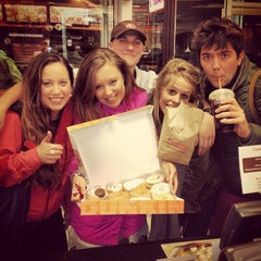 Photo taken at Dunkin' Donuts by Taylor M. on 5/12/2013