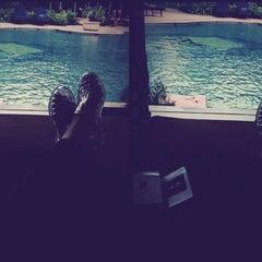 Photo taken at Swimming Pool - The Ritz Carlton 5th Floor Kuningan by dea putri a. on 3/30/2013