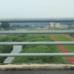 Photo taken at メルヘン大橋 by 54 on 8/16/2015