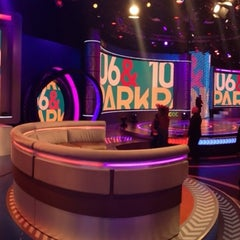 Photo taken at 106 & Park Studio by Lou The Chef on 11/21/2013