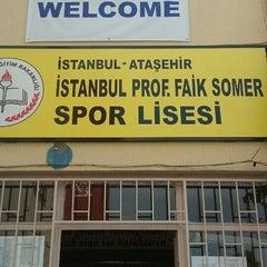 Photo taken at Ístanbul Spor Lisesi by Bedirhan D. on 8/5/2015