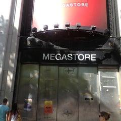 Photo taken at Virgin Megastore by Martin L. on 8/4/2013
