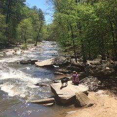 Photo taken at Chattahoochee River NRA - Sope Creek by Jenn on 4/7/2016