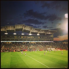 Photo taken at Dick's Sporting Goods Park by Emily L. on 7/8/2013