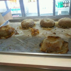 Photo taken at Surfside Bagels by Lisa E. on 2/11/2013