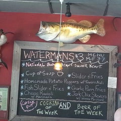 Photo taken at Waterman's Tavern by Lisa A. on 8/4/2013