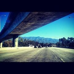 Photo taken at CA-134 / I-210 Freeway Interchange by Will B. on 12/10/2012