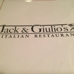 Photo taken at Jack & Giulio's Italian Restaurant by Danny O. on 9/13/2015