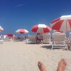 Photo taken at South Beach by Jon W. on 9/14/2013
