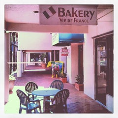 Photo taken at Vie De France Bakery & Cafe by Rafael G. on 6/28/2013