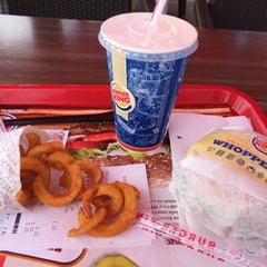 Photo taken at Burger King by Wally T. on 7/4/2014