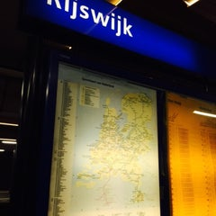 Photo taken at Station Rijswijk by Seda Y. on 8/15/2015