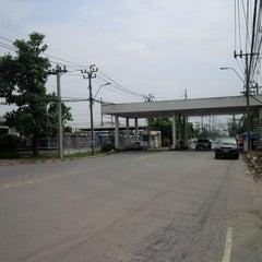 Photo taken at นิคมอุตสาหกรรมลาดกระบัง (Lat Krabang Industrial Estate) by Egg T. on 10/1/2013