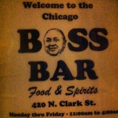 Photo taken at Boss Bar by Aaron B. on 3/3/2012