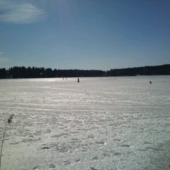Photo taken at Kvarnviken by Per S. on 4/1/2013