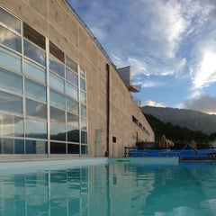 Photo taken at La Reserve Hotel Terme Caramanico Terme by Bronza on 7/10/2014