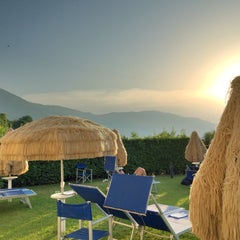 Photo taken at La Reserve Hotel Terme Caramanico Terme by Bronza on 7/6/2015