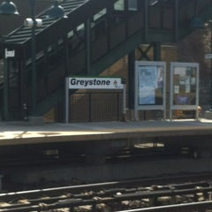 Photo taken at Metro North - Greystone Train Station by Sandy M. on 4/4/2013