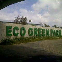 Photo taken at Eco Green Park by Om A. on 10/8/2012