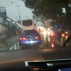 Photo taken at Jalan Raya Puncak by Om A. on 3/19/2013