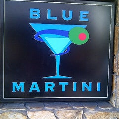 Photo taken at Blue Martini by Edgar A. on 10/25/2012