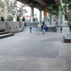 Photo taken at Skate Park by Juan Antonio P. on 12/12/2014