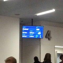 Photo taken at Gate 4 by Sameer K. on 2/11/2014
