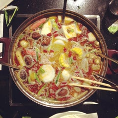 Photo taken at Little sheep Mongolian Hot Pot by Karen L. on 4/11/2013