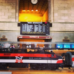 Photo taken at New Haven Union Station by Rafi S. on 2/24/2013