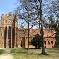 Photo taken at Zisterzienserkloster Chorin by Kilian F. on 4/21/2013