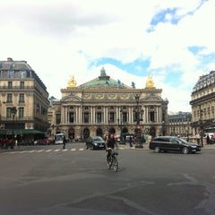 Photo taken at Place de l'Opéra by Elena E. on 5/11/2013