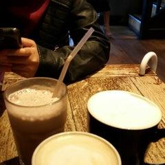 Photo taken at Coffee#1 by Syafiqah Nadiah M. on 10/8/2014