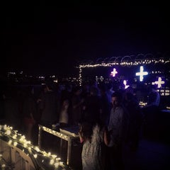 Photo taken at The Barbarian Group: Roof Deck by Chris B. on 8/16/2013