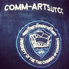 Photo taken at มหาวิทยาลัยหอการค้าไทย (UTCC) University of the Thai Chamber of Commerce by Acka K. on 8/27/2013