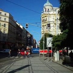 Photo taken at Strossmayerovo náměstí (tram) by Tigra . on 9/25/2012