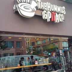 Photo taken at The Hummus & Pita Co by Korey Anthony C. on 7/23/2013